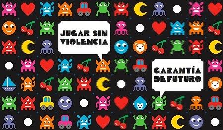 """Campaña """"La violencia no es un juego"""""""