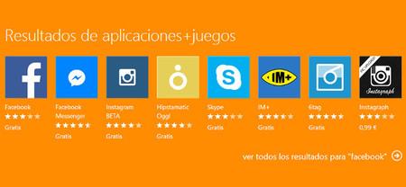 Microsoft parece haber mejorado al fin la clasificación y búsqueda de aplicaciones en la Windows Phone Store