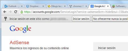 Loguearse en Chrome