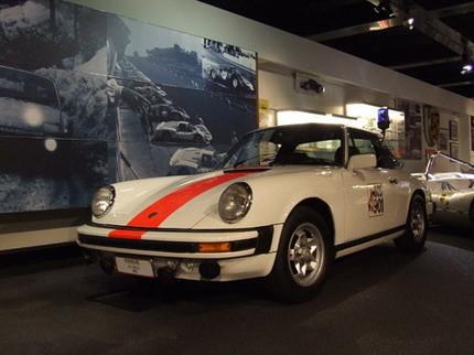 El Porsche 911 de la policía belga de los años 70