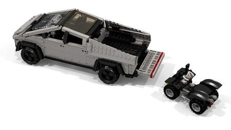 Tesla Cybertruck Lego By Peter Blackert 7