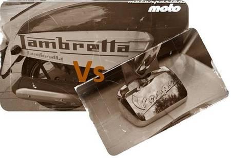 Comparativa Lambretta LN 125 contra Vespa S 125 ie