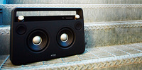 Wireless Boombox de TDK, sonido con aires retro