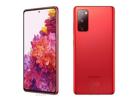 Samsung Galaxy S20 Fan Edition Rojo