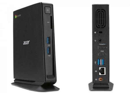 Una poderosa Chromebox Acer modelo CXI llegará en septiembre
