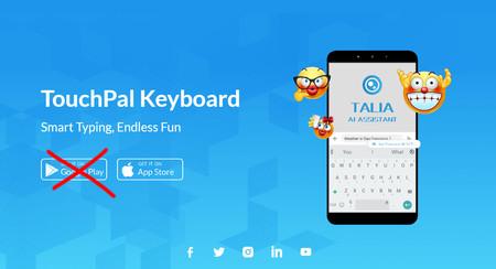 Google banea al desarrollador de TouchPal y ManFit por incluir la publicidad abusiva de BeiTaAd