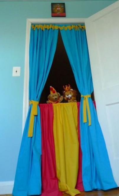 teatro con cortinas