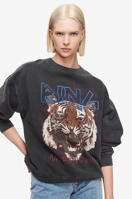 Anine Bing Tiger Sweatshirt Ab47 038 08 03 985x