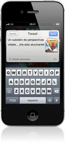 iphone 4S con iOS
