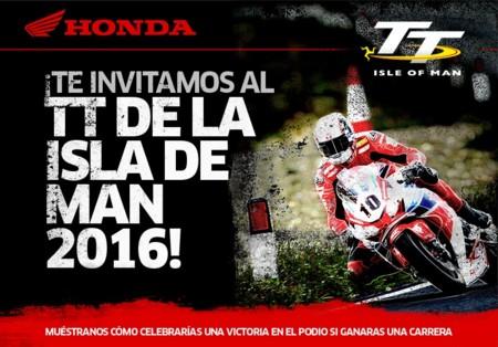 Honda te invita al TT de la Isla de Man 2016