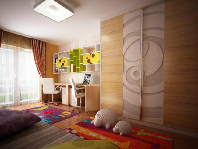 Dormitorio texturas