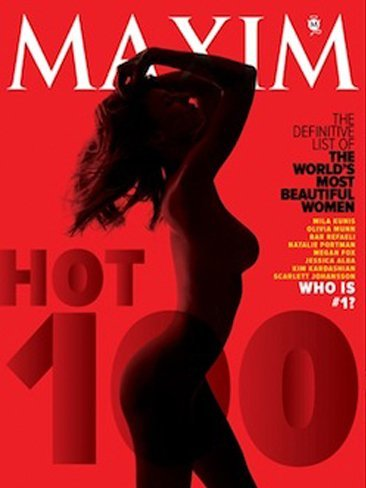 Maxim ya tiene nuevo top de buenorras, ¿quién se llevará la palma?