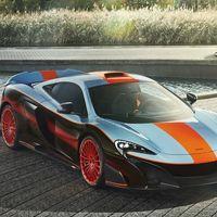 McLaren 675LT Gulf Racing, MSO rinde homenaje a la inolvidable victoria del F1 GTR en Le Mans
