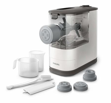 Ideal para celíacos y útil para quien quiera hacer su propia pasta: máquina para hacer pasta Philips HR2333/12 por 85 euros