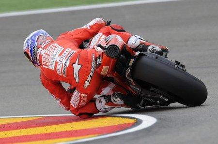 MotoGP Aragón 2010: pedrada de Stoner y expectativas por las nubes