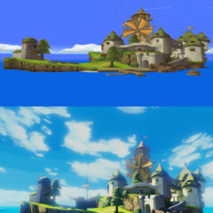 Foto 1 de 5 de la galería the-legend-of-zelda-wind-waker-hd-comparativa en Vidaextra