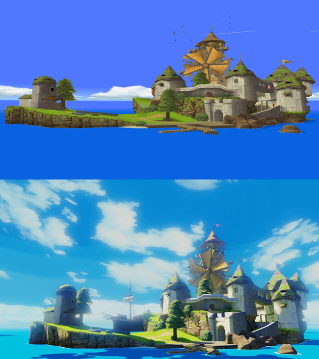 Foto de The Legend of Zelda: Wind Waker HD comparativa (1/5)