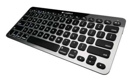 Logitech Bluetooth keyboard para Mac