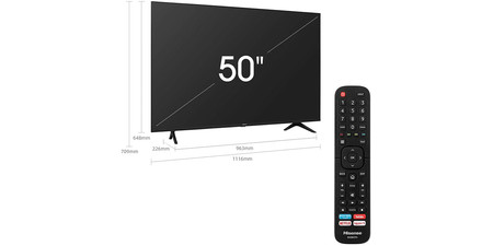 Tv Hisense Dimensiones Y Mando