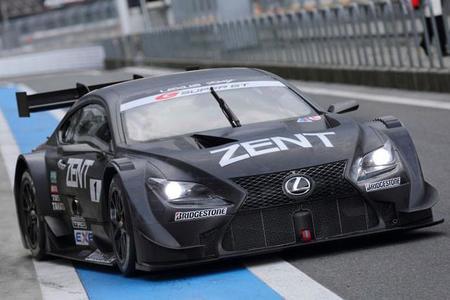 Lexus también quiere su GT3
