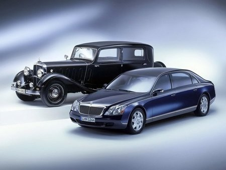 Maybach DS8 y 62