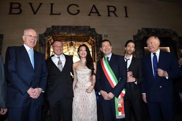 Bvlgari celebra su 130 aniversario con la reapertura de su histórica tienda en Vía Condotti