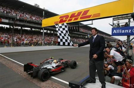 Hamilton Indianapolis F1 2007