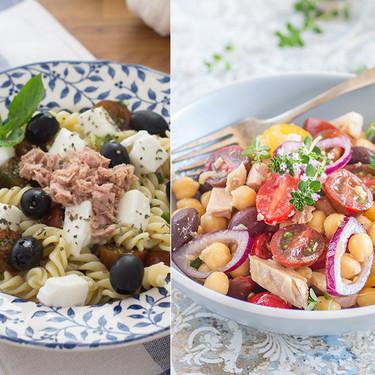 Las cinco ensaladas más buscadas de Internet y sus recetas más fáciles y deliciosas