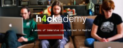 """Conociendo h4ckademy: la escuela de curriculum abierto, """"aprender participando en proyectos Open Source"""""""