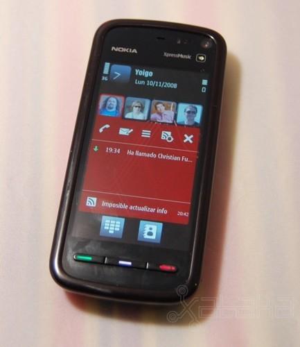 Nokia 5800 XpressMusic: primeras impresiones