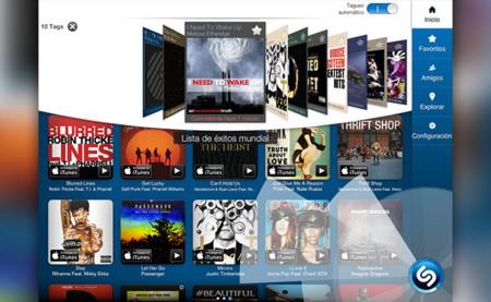 Shazam para iPad identifica las canciones y series de TV sin que tengas ni que decírselo