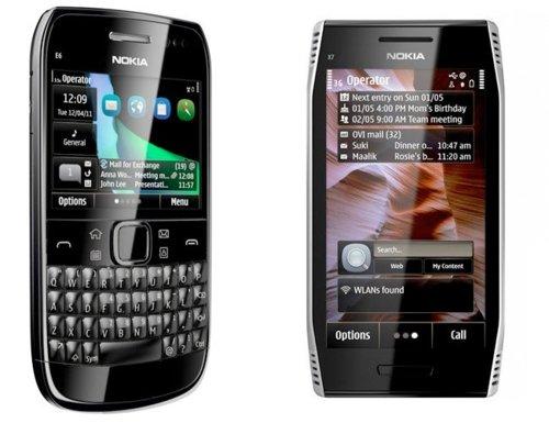 AclarandodetallessobreNokiaE6,SymbianAnna,yNokiaX7