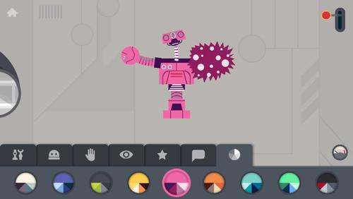 Fábrica de Robots, un juego educativo que deja volar la imaginación de los niños: App de la Semana