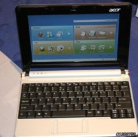 Acer Aspire One, otro ultraportátil más