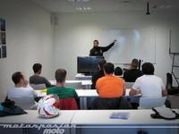 El Colegio de la Asunción de Gijón apuesta por el motociclismo como actividad extraescolar