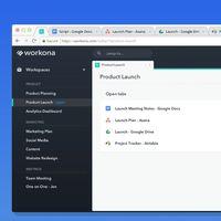 Workona quiere implantar y mejorar la idea de tener espacios de trabajo en el navegador