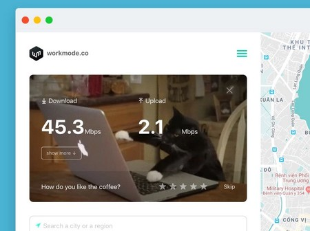 Workmode Find The Best Places To Work From Near You Product Hunt