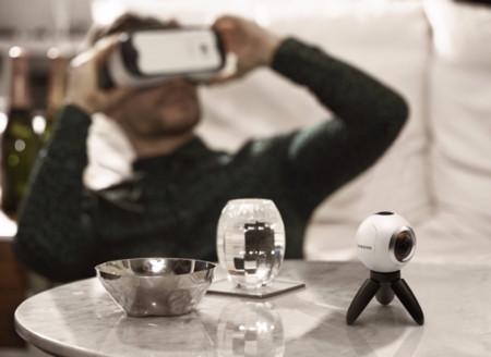 Samsung Gear 360: con esta cámara y tu smartphone puedes crear realidad virtual