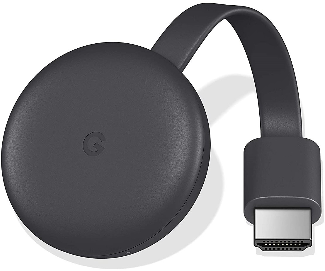 Google GA00439-MX Chromecast 3ra generación, Negro