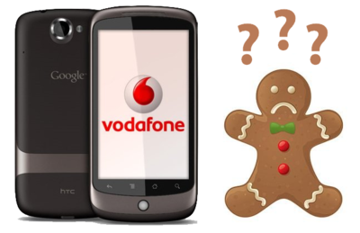 Nexus One (Vodafone) tendrá que seguir esperando a Gingerbread