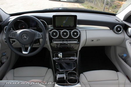 Mercedes Clase C, toma de contacto