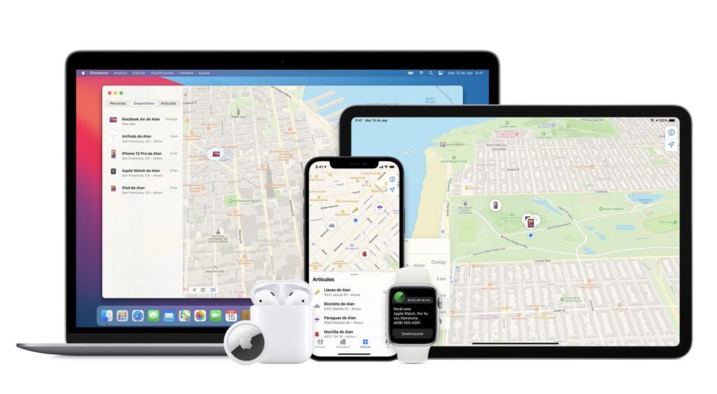 Con iOS™ quince podemos encontrar un iPhone siquiera esté apagado