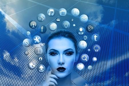 Mujer y redes sociales