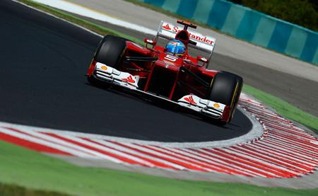 Ferrari es optimista en cuanto al desarrollo de su monoplaza para lo que queda de 2012