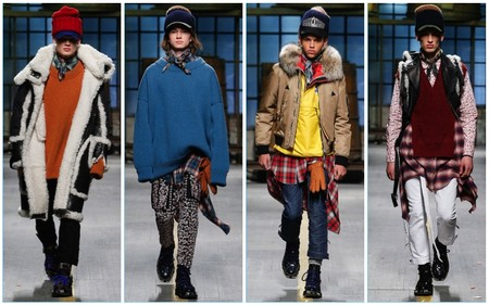 Dsquared2 Fall Winter 2017 Menswear