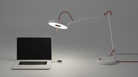 La primera lampara de Li-Fi que transmite internet mediante luz fue presentada en el CES