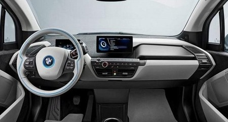 BMW i3 salpicadero gris