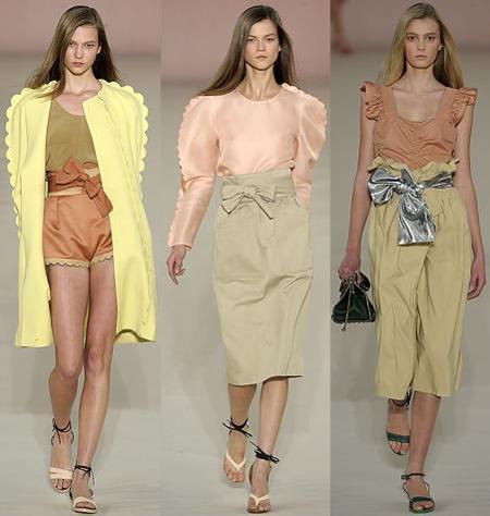 Chloé en la Semana de la Moda de París Primavera-Verano 2009