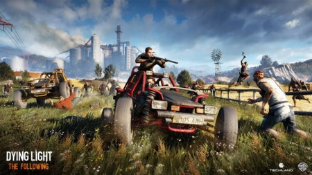 The Following es una gran expansión para Dying Light que introducirá vehículos y un enorme mapa