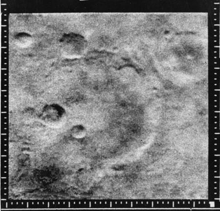 Hoy hace 51 años de las primeras fotos orbitales de Marte